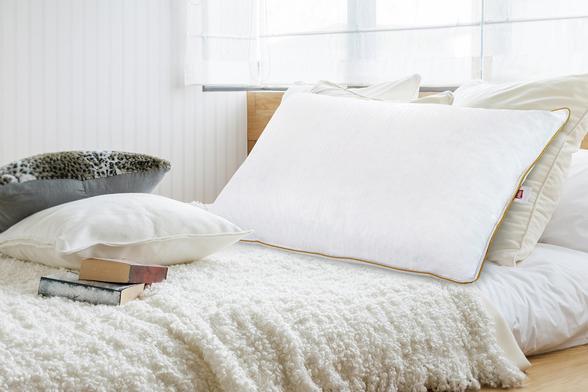 İşbir Yatak - Gold Kaz Tüyü Yastık (1)
